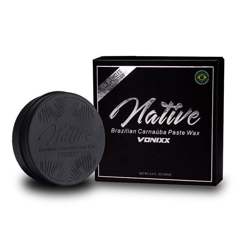 Cera Native Brazilian Carnaúba Paste Wax – Black Edition (100ml)  - Dandi Produtos Automotivos