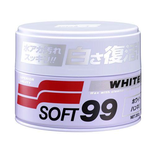Cera Cleaner White Wax - Soft99  - Dandi Produtos Automotivos