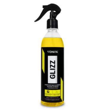 Glizz Otimizador para Polimento 500ml Vonixx   - Dandi Produtos Automotivos