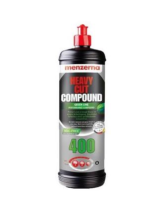 Heavy Cut Compound 400 Green Line 1Kg Menzerna  - Dandi Produtos Automotivos