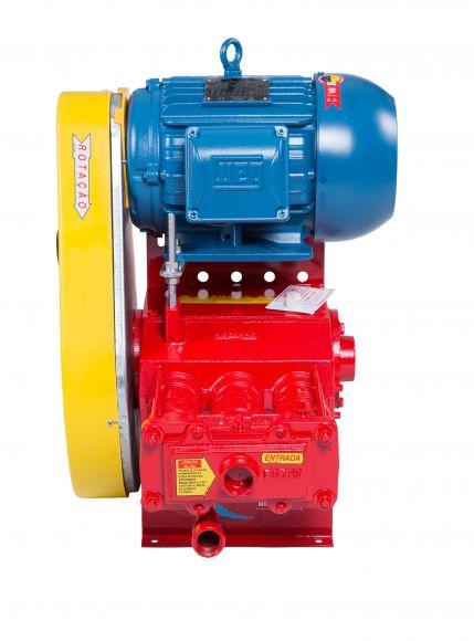 Lavadora Bh 6284 Com Motor 5Cv -220V Trifasico Sem Mangueira - Hidromar  - Dandi Produtos Automotivos