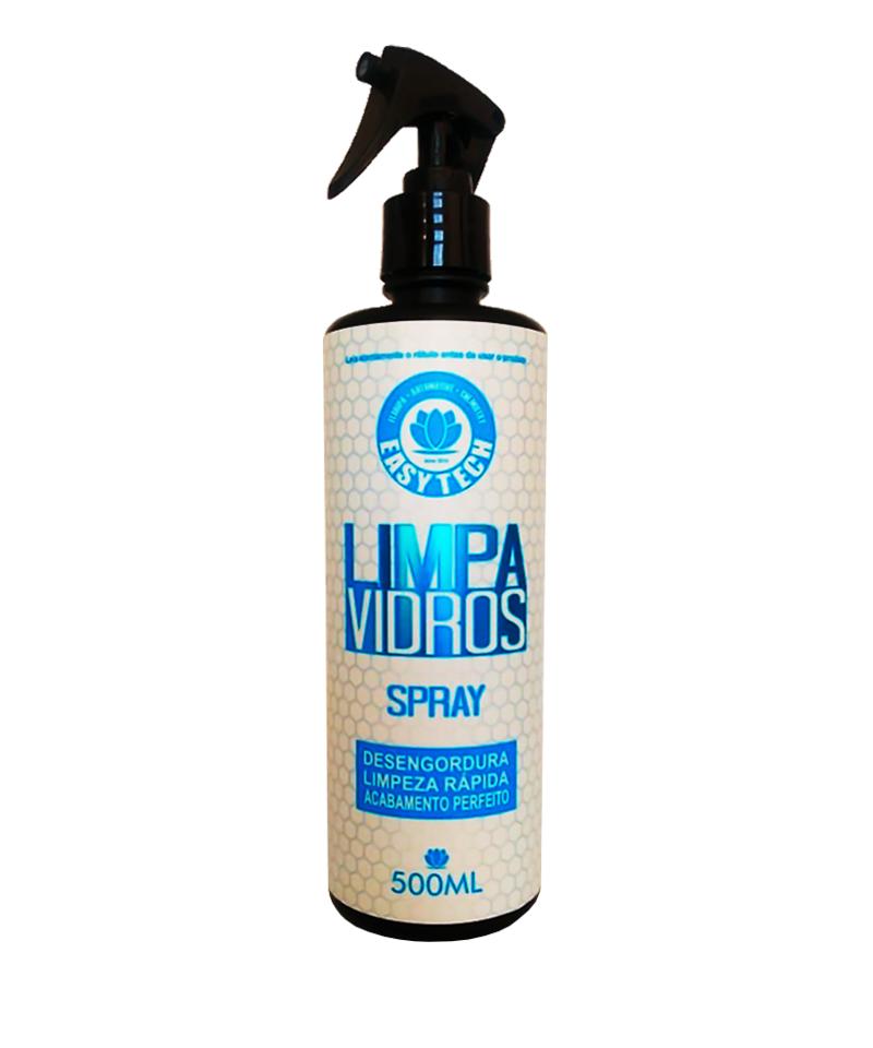 Limpa Vidros Desengordurante Spray 500Ml - Easytech  - Dandi Produtos Automotivos