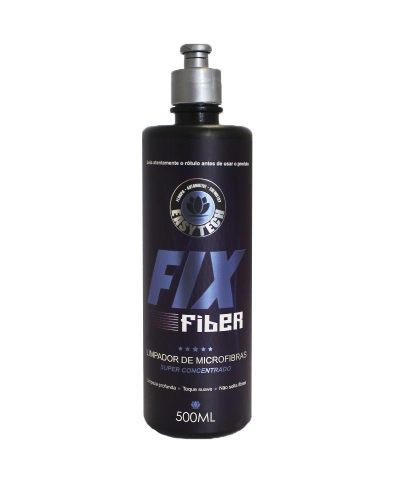 Limpador Microfibra Fixfiber 500Ml Easytech  - Dandi Produtos Automotivos