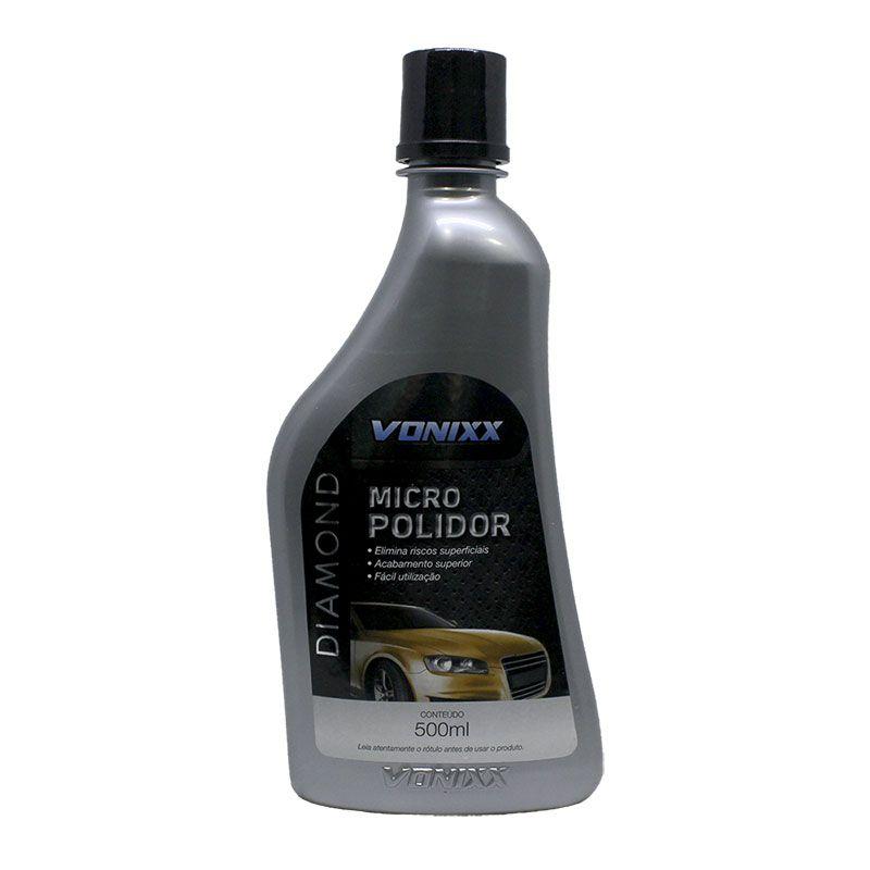 Micro Polidor Refino Diamond 500Ml - Vonixx  - Dandi Produtos Automotivos