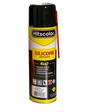 Silicone Aerosol 4 Em 1- 300Ml Hitscolor  - Dandi Produtos Automotivos