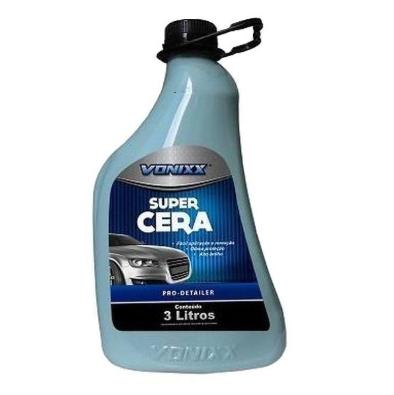 Super Cera Limpadora 3L Vonixx  - Dandi Produtos Automotivos