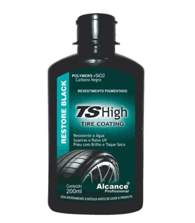 Ts High Tire Coating 200Ml Alcance  - Dandi Produtos Automotivos