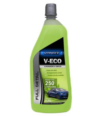 V-Eco Lavagem A Seco 1,5L Vonixx  - Dandi Produtos Automotivos
