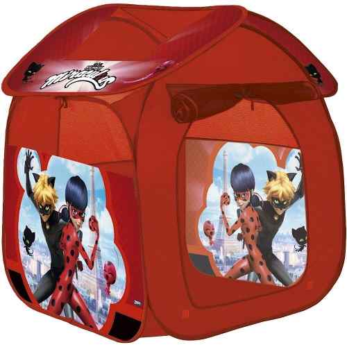 Barraca Infantil Portatil Casa Ladybug Cat-noir Miraculous - Zippy Toys