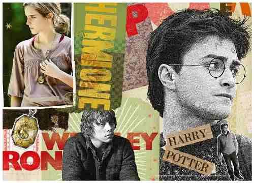 Puzzle 1000 Peças Harry Potter - Grow