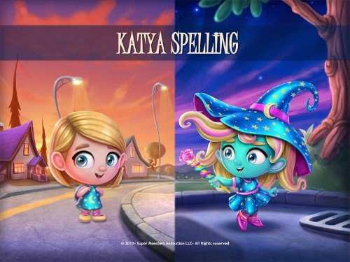 Super Monsters Figura Katya Spelling Netflix - Hasbro E5266