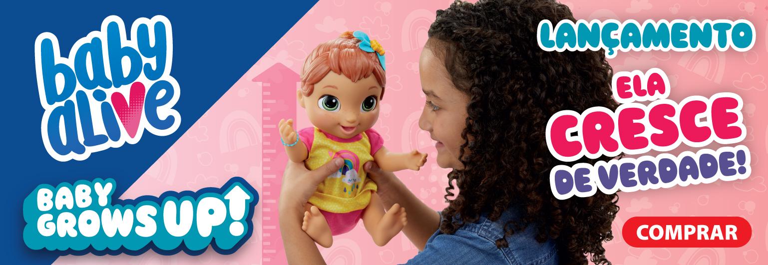 Ual! Olha este Super Lançamento da Hasbro! Baby Alive Grows UP!