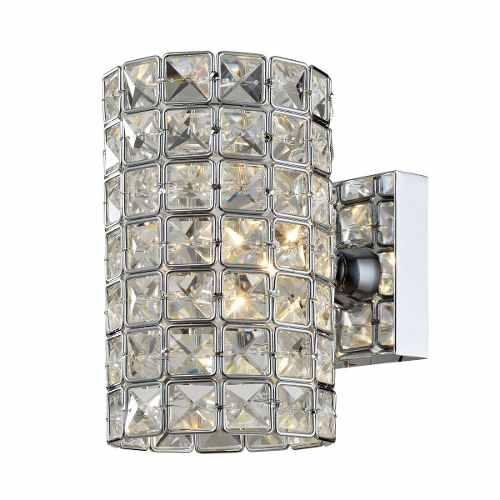 Arandela De Cristal Luxor Ii Transparente