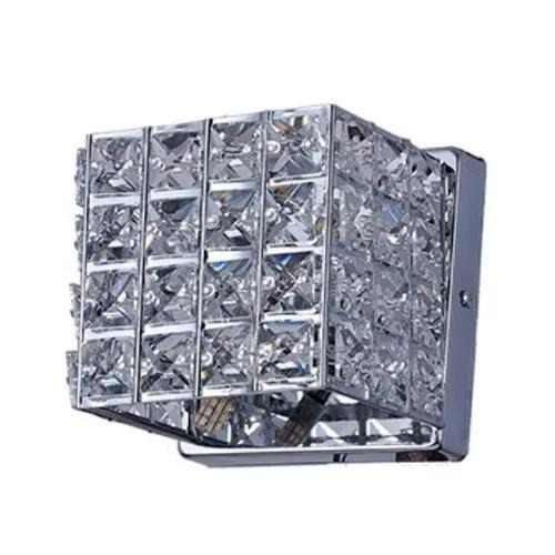 Arandela De Cristal Luxor III Transparente