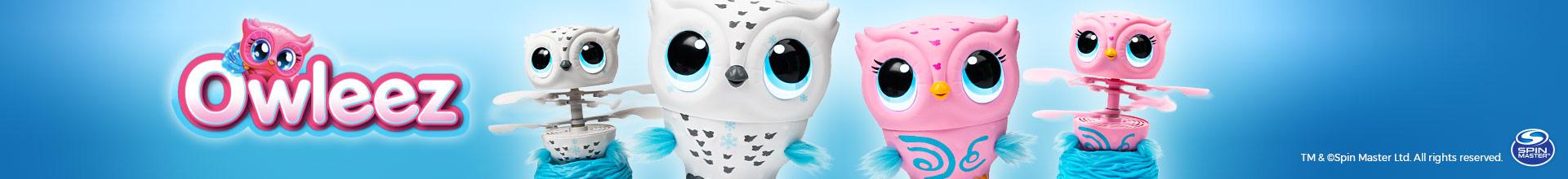 Owleez - Ela precisa dos seus cuidados e treinamento para aprender a Voar!