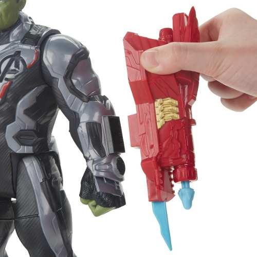 Boneco Hulk 30cm Vingadores 4 - Ultimato Com Entrada para Dispositivo Power FX - E3304 Hasbro