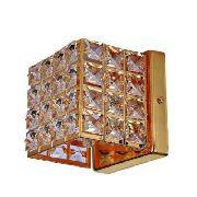 Lustre Arandela De Cristal Luxor Dourada III Ar3312-2.000