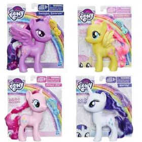 Pack My Little Pony - Twilight Sparkle + Fluttershy + Pinkie Pie + Rarity - Hasbro