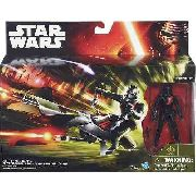 Pack Star Wars Veiculo Classe I Elite Speeder Bike And Stormtrooper Edicao Especial B3718 - Hasbro