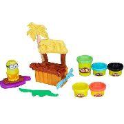 Play Doh Paraiso dos Minions B9028 - Hasbro