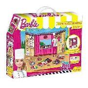 Barbie - Massinha food Truck Comidinhas Japonesas e Sushi 79680 - Fun