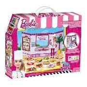 Barbie - Massinha food Truck Lanchinhos e Sucos Divertidos 7968-2 - Fun