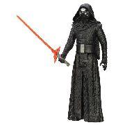Boneco Star Wars Kilo Ren 30 Cm Com Sabre Hasbro