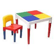 Mesa  Infantil Multi com 1 Cadeira  - Bell Toy