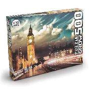 Puzzle 500 Peças Londres Grow Quebra Cabeça Grow
