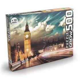 Quebra Cabeça 500 Peças Londres - Puzzle Grow