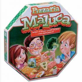 Jogo Pizzaria Maluca 30 Ingredientes- Grow