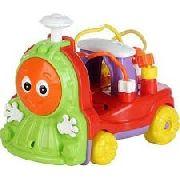 Trenzinho Pedágofico Infantil Com Som Donka Trem Calesita