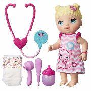 Boneca Baby Alive Cuida De Mim Loira C2691 - Hasbro
