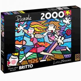 Puzzle Grow 2000 Peças Romero Britto Love Blossoms