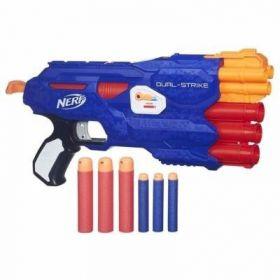 Lançador Nerf Elite Dual Strike B4620 - Hasbro
