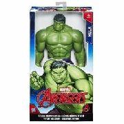 Boneco Hulk Titan Hero Marvel Avengers Hasbro Original 30 Cm