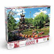 Puzzle Grow 6000 Peças Tivoli Gardens - Quebra Cabeça