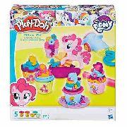 Play Doh Kit Festa Do Cupcake Pony Pinkie - Hasbro B9324