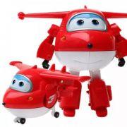 Avião Super Wings Jett 12cm 8006-4 - Fun