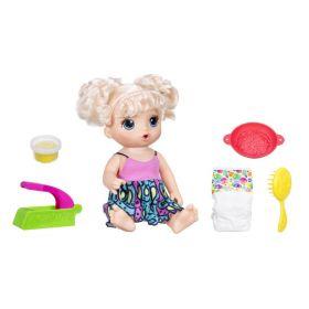 Boneca Baby Alive Espaguete - Adoro Macarrão Loira C0963 - Hasbro