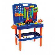 Bancada de Ferramentas infantil didáticas com chaves e Acessórios 6877 - Poliplac