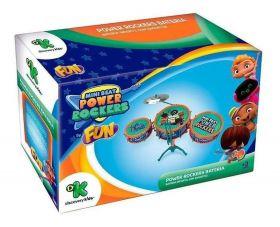 Bateria Infantil Mini Beats Power Rockers  F00053 - FUN