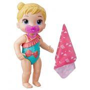 Boneca Baby Alive Bebê Banhos Carinhosos Loira E8721 - Hasbro E8716