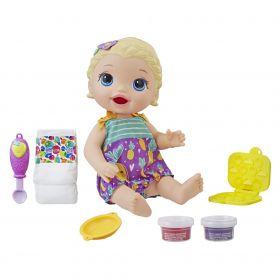 Boneca Baby Alive Lanchinho divertido Loira E5841 - Hasbro