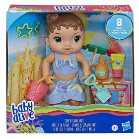 Boneca Baby Alive Sol e Areia E8718 - Hasbro