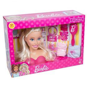 Boneca Barbie Busto Para Pentear e Enfeitar - Puppe