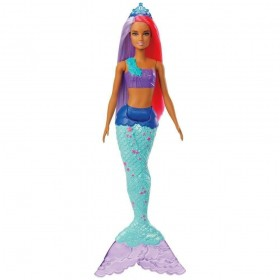 Boneca Barbie Sereia Dreamtopia GJK07 GJK09 - MATTEL