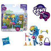 Boneca My Little Pony Rainbow Dash 10Cm Articulada com Acessorios  B8025 - Hasbro B4909