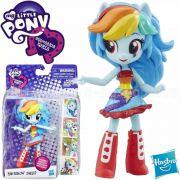 Boneca My little Pony Rainbow Dash Articulada 10Cm Equestria Girls B7786 - Hasbro B4903