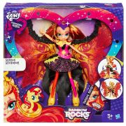 Boneca My Little Pony Sunset Shimmer Luxo B1041 - Equestria Girls Time to shine - Hasbro